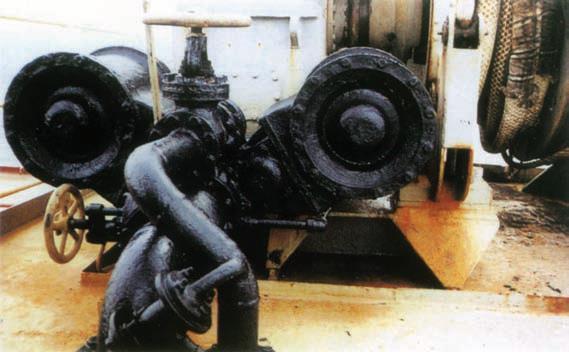 deck steam pipe coating