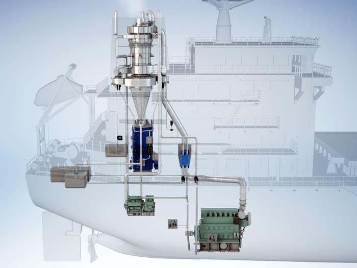 urea 40 scrubber exhaust diagram